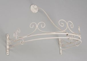 Bed Canopy Chic French Shabby Cream/Off White Home Bed Canopies Ciel de Lit